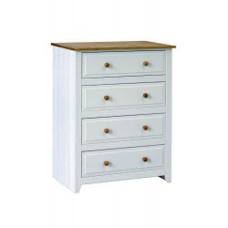 Capri 4 Drawer Chest