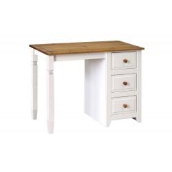 Capri Single Pedestal Dressing Table