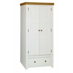 Capri 2 Door, 1 Drawer Wardrobe