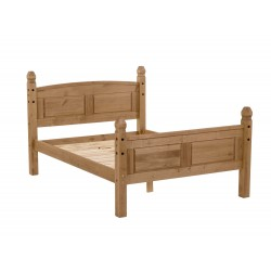 "Corona 4'6"" High End Bedstead"