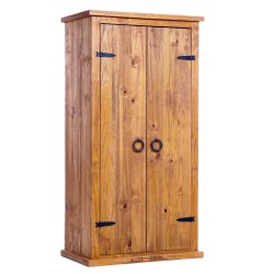 Farmhouse 2 Door Wardrobe - Self Assembly