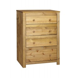 Hacienda 4 Drawer Chest