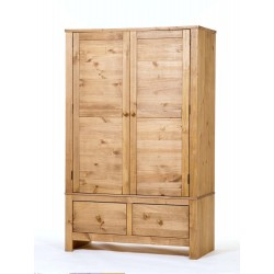 Hacienda 2 Door,2 Drawer Wide Wardrobe
