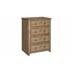 Mexican 4 Drawer Chest