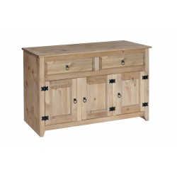 Mexican Medium Sideboard, 2 Drawer, 3 Door