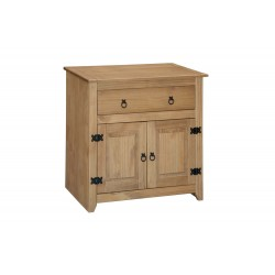 Mexican Petite Sideboard, 1 Drawer, 2 Door