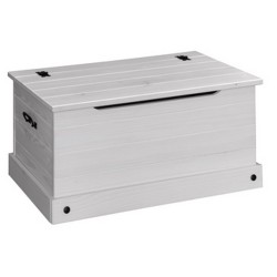 Corona White Wash Storage Trunk