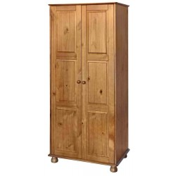 Dovedale 2 Door Full Hanging Wardrobe