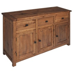 Denver Medium Sideboard 3 Door, 3 Drawer