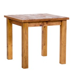 Farmhouse 800Mm Square Dining Table - Self Assembly