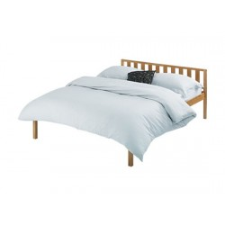 """Baltic 4'6"""" Double Bed Antique Pine Finish"""