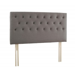 "Madison 4'6"" Double Headboard, Stylish Linen Fabric"