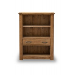 Boden Bookcase, 1 Drawer, Rustic Finish, Solid Pine