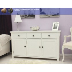 Hampton Three Door Sideboard