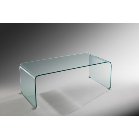 Azurro Glass Coffee Table, Sleek and Contemporary style