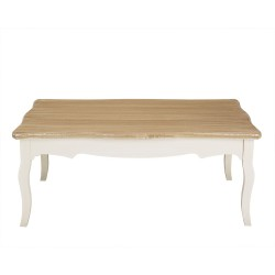 Juliette Coffee Table, Vintage Shabby Chic Style, Solid Pine, Painted Finish