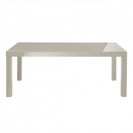 Puro Coffee Table, Sleek Contemporary Style, High Gloss Stone