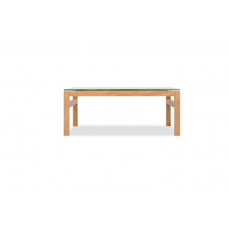 Tribeca Solid Oak Range Coffee Table with some Vaneers