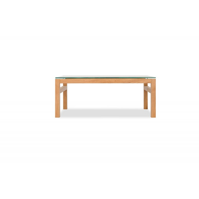 Tribeca solid oak range coffee table with some vaneers for Coffee tables the range