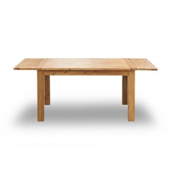 Boden Extending Dining Table, Timeless Style, Expensive Look and Rustic Feel