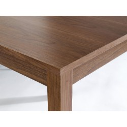Brompton 1.5M Large Table, American Walnut Venners