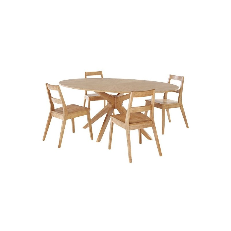 Cool Malmo Dining Table Starbust Pattern Scandinavian Style Cjindustries Chair Design For Home Cjindustriesco