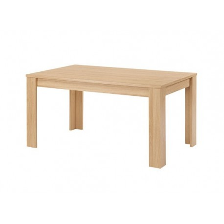 Moda Dining Table, Robust Appearence, Oak Wood
