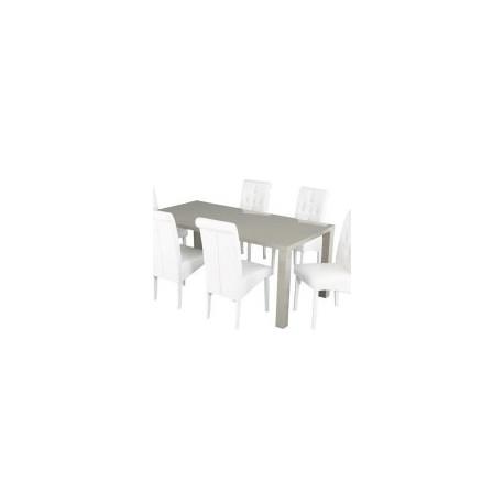 Monroe Medium Dining Table, Stone