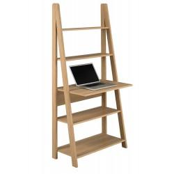 Tiva Ladder Desk in Oak Finish