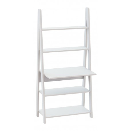 Tiva Ladder Desk Coated in White Colour