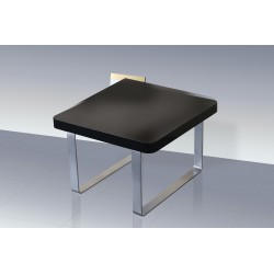 Accent End Table / Lamp Table High Gloss Black