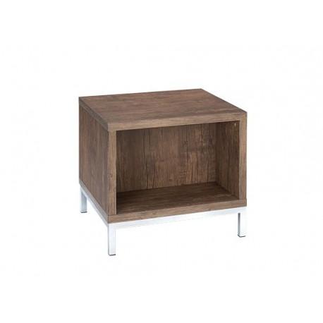 Amari Lamp/End Table, Chorme Feet