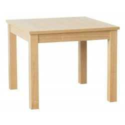 Oakridge End Lamp/ Table, Real Ash Veneer With Oak Finish, Suits Any Style
