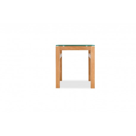 Tribeca Solid Oak Range End Table with some Vaneers