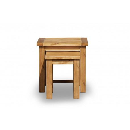 Boden Nest Of 2 Tables, Timeless Style, Expensive Look and Rustic Feel