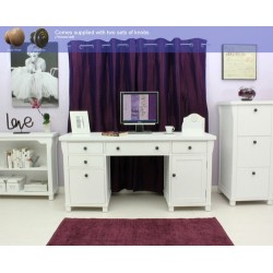Hampton Twin Pedestal Computer Desk