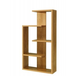 Alberta Shelving Unit Oak Finish