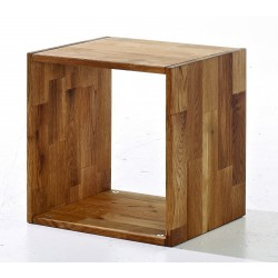 Maximo Single Cube, Solid Oak, Cool And Creative Look
