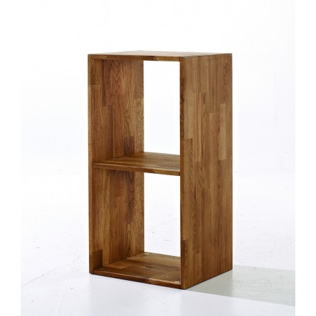 Maximo 2 Cube Divider, Cool And Cretive Look, Solid Oak
