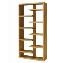 Toronto Oak Finish Floor Standing Shelving Unit