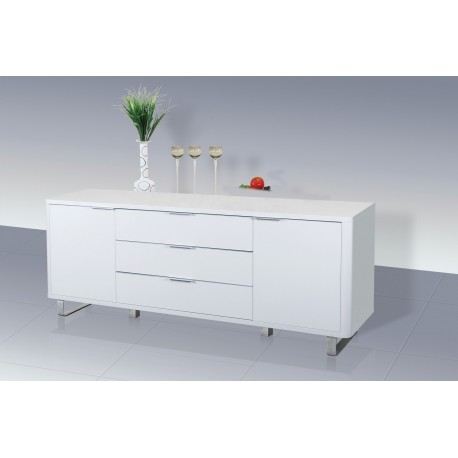 Accent Sideboard High Gloss White