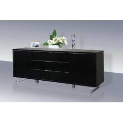 Accent Sideboard High Gloss Black