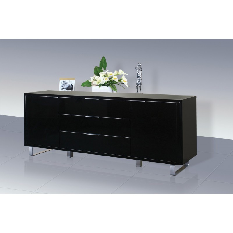 on sale 37738 dfe09 Accent Sideboard High Gloss Black