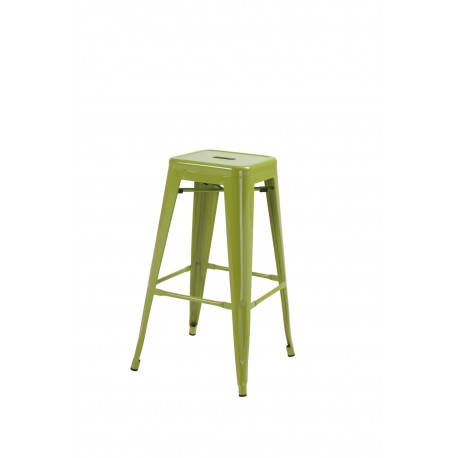 Hoxton Stacking Stool, Green 2 Pack