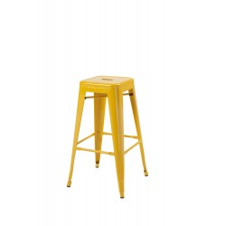 Hoxton Stacking Stool, Yellow 2 Pack