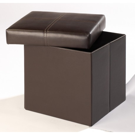 Madrid Small Storage Stool, Blanket Box, Toy Box, Faux Leather