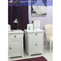 Hampton Filing Cabinet Two Drawer