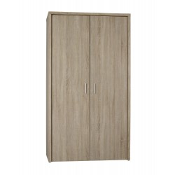 Lexington Wardrobe, Sleek Simply Design, Oak Finish