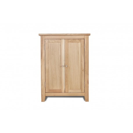 Ocean 600 Vanity Unit For Sink, 2 Doors, Elegant Style, Solid Oak