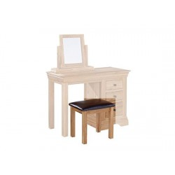 Worthing Solid American White Oak Stool